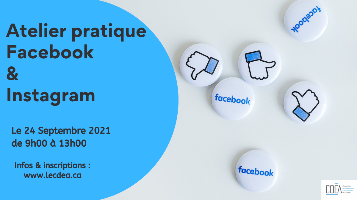 Atelier pratique Facebook & Instagram - CDEA
